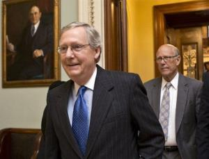Senate Minority Leader Mitch McConnell is not a favorite among conservatives these days.