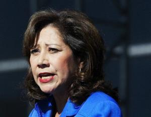 This Sept. 10, 2012, file photo shows Labor Secretary Hilda Solis.