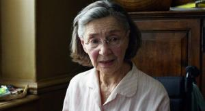 This image released by Sony Pictures Classics shows Emmanuelle Riva in a scene from Amour.