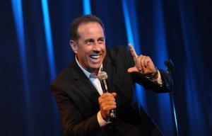 Jerry Seinfeld performs in 2012.