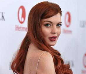 Lindsay Lohan attends a dinner celebrating the premiere of Liz & Dick at the Beverly Hills Hotel last year.
