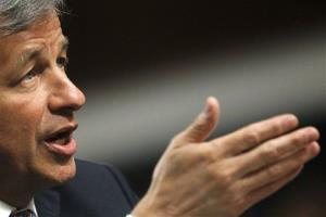 JPMorgan Chase CEO Jamie Dimon testifies before the Senate Banking Committee last June.