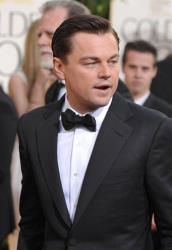 Actor Leonardo DiCaprio arrives at the 70th Annual Golden Globe Awards at the Beverly Hilton Hotel on Sunday Jan. 13, 2013, in Beverly Hills, Calif.