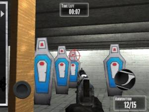 A screen grab of NRA: Practice Range.