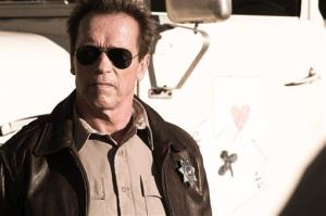 This publicity film image released by Lionsgate shows Arnold Schwarzenegger in a scene from The Last Stand.