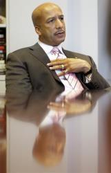 New Orleans Mayor Ray Nagin in 2008.