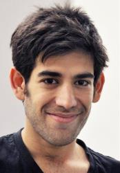 This Dec. 8, 2012 photo provided by ThoughtWorks shows Aaron Swartz in New York.