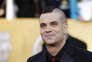 Mark Salling arrives at the 17th Annual Screen Actors Guild Awards on Sunday, Jan. 30, 2011 in Los Angeles.