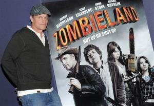 Actor Woody Harrelson attends a special screening of the film 'Zombieland' at the AMC Empire Theater on Wednesday, Sept. 30, 2009 in New York.