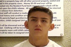 Nehemiah Griego, 15,  is seen in an undated photo provided by the Bernalillo County Sheriff's Department.
