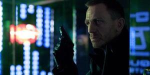Daniel Craig portrays James Bond in a scene from Skyfall.