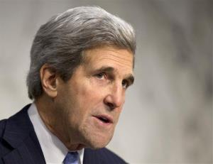 Senate Foreign Relations Chairman John Kerry, D-Mass. on Capitol Hill in Washington.
