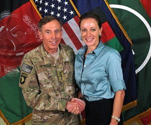 Paula Broadwell is seen with David Petraeus in this file photo.