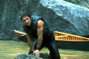 This image released by Warner Bros. shows Burt Reynolds in the 1972 film Deliverance.
