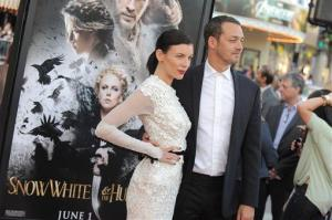Actress Liberty Ross and director Rupert Sanders attend the Snow White and the Huntsman screening on May 29 in Los Angeles.