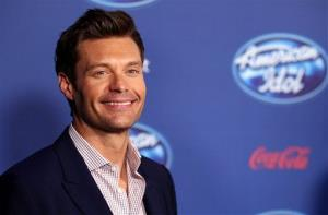 Ryan Seacrest attends the American Idol premiere event at UCLA, Wednesday, Jan. 9, 2013, in Los Angeles.