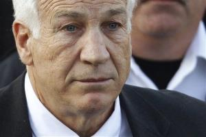 Jerry Sandusky in a file photo from 2011.