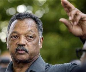 The Rev. Jesse Jackson speaks at a vigil for Chavis Carter, who was fatally shot in the back of a Jonesboro, Ark., police car, Aug. 22, 2012, in Jonesboro.