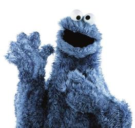 In this publicity image released by the Sesame Workshop, the character Cookie Monster from the children's program, Sesame Street, is shown.