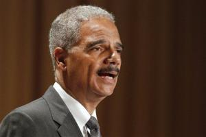 In this June 11, 2012, file photo, Attorney General Eric Holder speaks in Washington.