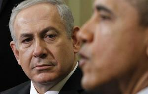 In this March 5 file photo, Israeli Prime Minister Benjamin Netanyahu listens as President Obama speaks at the White House.