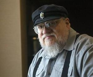 George RR Martin is seen in this file photo.