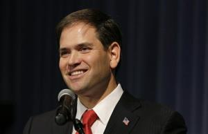 Sen. Marco Rubio, R-Fla., speaks during Iowa Gov. Terry Branstad's annual birthday fundraiser Nov. 17, 2012, in Altoona, Iowa.