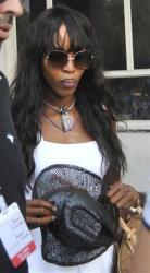 In this Nov. 4, 2012 file photo, British supermodel Naomi Campbell arrives at Jodhpur, India.