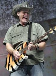 Musician Ted Nugent at the National Rifle Association's 140th convention in 2011.
