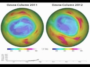Long-term observations reveal that Earth's ozone has been strengthening following international agreements to protect this vital layer of the atmosphere.