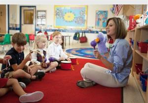 An image from Primrose Schools, a national educational child care franchise with more 250 schools across the country. President Obama has proposed expanding pre-kindergarten programs nationwide.
