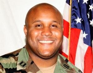 This undated photo released by the Los Angeles Police Department shows Christopher Dorner, a former Los Angeles Police officer.