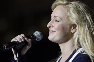 In this undated file  photo, country singer Mindy McCready performs in Nashville, Tenn.