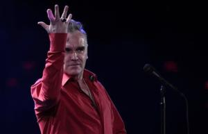 England's singer Morrissey performs at the 53rd annual Vina del Mar International Song Festival in Vina del Mar, Chile, Friday Feb. 24, 2012.