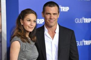 Diane Lane and Josh Brolin at the LA premiere of The Guilt Trip in Los Angeles in December.