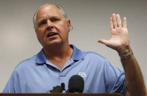 Rush Limbaugh in a file photo.