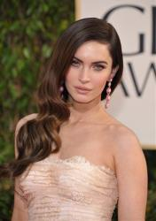 Actress Megan Fox arrives at the 70th Annual Golden Globe Awards at the Beverly Hilton Hotel on Sunday Jan. 13, 2013, in Beverly Hills, Calif.
