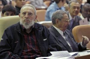 Fidel Castro made a rare appearance at the opening session of the National Assembly in Havana.