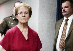 In this Feb. 1, 2011 file photo, Ruby Klokow arrives at court in Sheboygan, Wis.