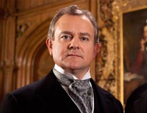 Hugh Bonneville in a scene from 'Downton Abbey.'