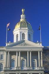 The state Capitol in Concord, New Hampshire.