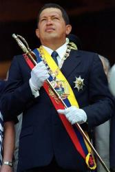 Venezuela's Hugo Chavez in 2000.