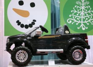 File photo of a Power Wheels truck. It's for kids.
