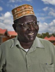 A file photo of Abong'o Malik Obama, half-brother of President Obama.