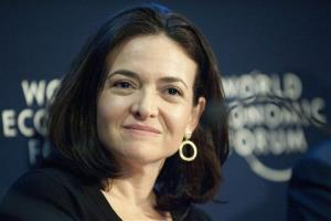 In this Friday, Jan. 28, 2011, file photo, Sheryl Sandberg speaks during a panel session at the 41st annual meeting of the World Economic Forum, WEF, in Davos, Switzerland.
