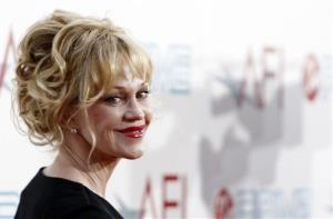 Melanie Griffith arrives at the taping of the American Film Institute Life Achievement Awards honoring actor Michael Douglas in Culver City, Calif., in 2009.