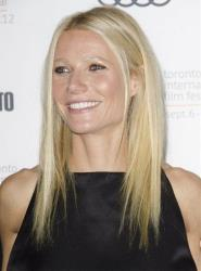 Actress Gwyneth Paltrow attends the Thanks For Sharing premiere during the Toronto International Film Festival on Saturday, Sept. 8, 2012, in Toronto.
