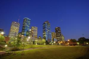 Downtown Houston.