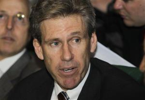 File photo of late US envoy Chris Stevens.