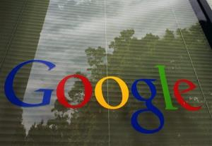 In this Thursday, April 12, 2012, photo, a Google logo is displayed at headquarters in Mountain View, Calif.